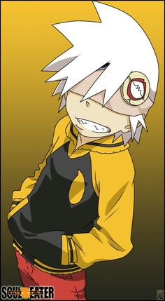 Soul Eater Evans, OMG what if soul had been blind, that would have been AWESOME!!