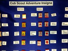 New Cub Scout belt loop and great info on new program coming in 2015.