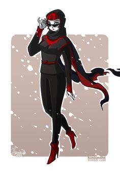 Kate Kane II by HanieMohd.deviantart.com on @deviantART #batwoman #dccomics