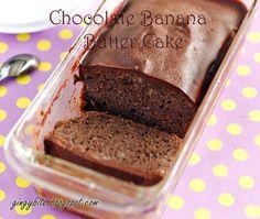 Chocolate Banana Butter Cake 巧克力香蕉牛油蛋糕 | The Yummy Journey