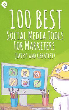 Looking for social media tools to transform your marketing? Here's what the pros use! A monstrous list of 100 of the best social media tools for marketers. Clique aqui http://www.estrategiadigital.pt/e-book-ferramentas-de-redes-sociais/ e faça agora mesmo Download do nosso E-Book Gratuito sobre FERRAMENTAS DE REDES SOCIAIS