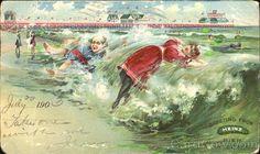 Mule cart on the beach in atlantic city nj c1901 gilded age mule cart on the beach in atlantic city nj c1901 gilded age fashioned ladies and their children detroit publishing company cwl origin m4hsunfo