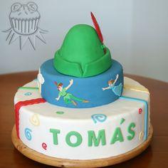 Peter Pan flight cake Tarta de Peter Pan