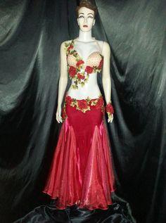 Atelier Yasmin Hassanein - Trajes para Dança do Ventre - Bellydance Costumes: Figurino Luxo by Yasmin Hassanein