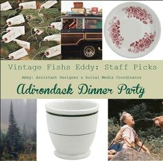 Check out Abby's virtual dinner party here: http://pinterest.com/fishseddy/vintage-fishs-eddy-abbys-picks/