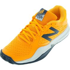 New Cosmetics for the 2016 Australian Open, the New Balance Men's 996 v2 D Width Tennis Shoes are a lightweight, high performance model constructed with the full foot TPU cage for supreme flexibility as well as PROBANK technology for lateral stability. The Ndurance rubber compound located in the higher wear areas gives this shoe extra durability without sacrificing the comfort and support. Worn by ATP star Milos Raonic, these shoes also come backed by a one-year NDurance durability…