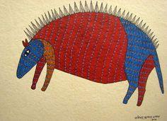 Gaia Tree - Gallery of Indigenious Art Madhubani Art, Indian Folk Art, Madhubani Painting, Indian Patterns, Indigenous Art, Outsider Art, Tribal Art, Pattern Art, Decoration