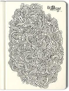 Hand drawn doodle city by balabolka , via Behance