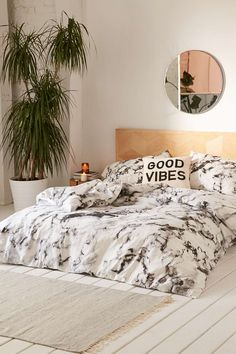 Love the marble bedding.                                                                                                                                                                                 More