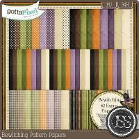 Bewitching Pattern Papers $2.99