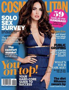 Cosmopolitan South Africa July 2012: Megan Fox