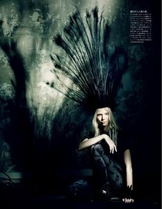 """A Mystical Season,"" by  Paolo Roversi for Vogue Japan March 2014"