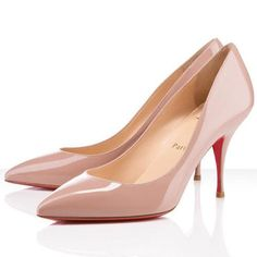 All You Need is Love And Christian Louboutin Piou Piou 80mm Pumps Nude CBW!