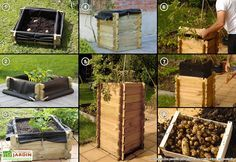 Carré Potager Evolutif Tour à Pommes de Terre PatataBac