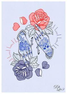 Image of Love / Hate. Rik Lee