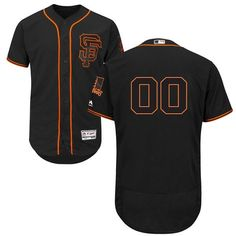e23470c87cdaf Manbaout Mens Giants Custom Baseball Jersey Black: Embroidered Jerseys with  the name and number of your favorite player, past or present, or even your  own ...