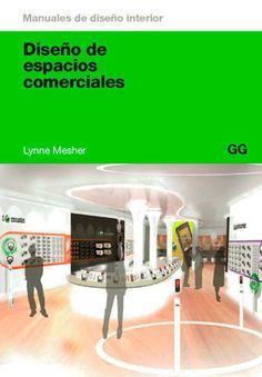 Libro Diseño de espacios comerciales, Lynne Mesher, ed. Gustavo Gili