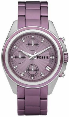 MARKED DOWN TO $99 Fossil watch es 2916 #fossilwatch #fossiles2916 #fossilwatches #purplewatch