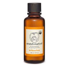 Erbaviva Stretch Mark Oil New 125ml/4.3 fl. oz. Prenatal Postnatal Pregnancy #Erbaviva
