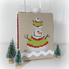 Impilati pupazzi di neve, pupazzo di neve ornamento