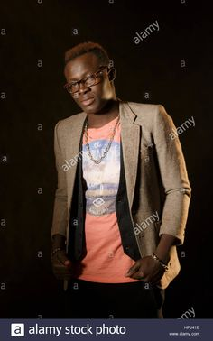 Download this stock image: Portrait of Senegalese - hpj41e from Alamy's library of millions of high resolution stock photos, illustrations and vectors.