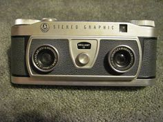 Vintage 1950's Graflex Stereo Graphic camera from GhostlyTreasures, ETSY