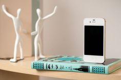 Vintage Book Dock for iPhone - Geek Decor