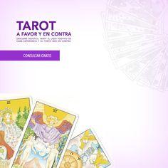 Consulta el tarot GRATIS a Favor o en Contra en aliciagalvan.com