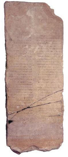 An Ancient Tablet discovered - In Jerusalem a tablet, three-foot-tall with 87 lines written in Hebrew is believed by scholars to date back to decades just before the Yeshua's (Jesus's) birth. It is causing quite a stir worldwide, it speaks about a messiah who will rise from the dead after three days. The tablet was found near the Dead Sea on the Jordanian side and it is a rare finding of a stone with ink writings from that time era. Some describe it as a type of Dead Sea Scroll written on stone.