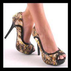 Camo Heels?!!