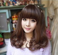 2016 new arrival fashionable lovely cutely cheap fluffy curly hair female roll cosplay synthetic hair wig-in Synthetic Wigs from Beauty & Health on Aliexpress.com   Alibaba Group