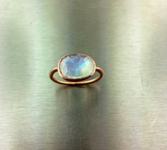 14 Karat Rose Gold Rainbow Moonstone Ring available now. #moonstone #rosegold #ring    http://shop.kylechandesign.com/searchquick-submit.sc?keywords=03502