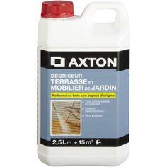 Delightful Dégriseur AXTON Degriseur Bois Ext Axton 2.5l 2.5 L, Incolore
