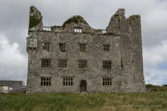 Leamaneh Castle, the Burren, County Clare.  This was originally constructed as a tower house in the late 15th century by Turlough O'Brien. He built it at a vital junction at the beginning of the ancient routeway that traverses the Burren from north-south. In around 1648, Conor O'Brien and his wife Mary McMahon (known as Máire Rua for her flame-red hair), constructed this palatial four-storey fortified house in the fashion of the time.
