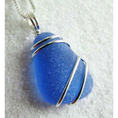 seaglass | Sea glass necklace - Shop for Sea glass necklace on ThisNext