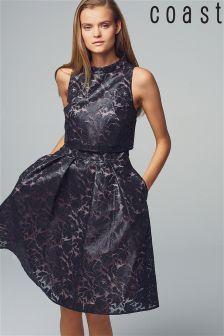Coast Coated Lace Dress