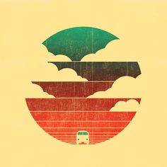 Go West Art Print by Budi Satria Kwan on Society6
