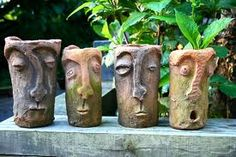 Slab Face Jugs - though to reinforce art history would get students to replicate famous expressionist faces