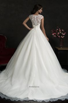 such a gorgeous princess dress. amelia sposa is an amazing and classy designer