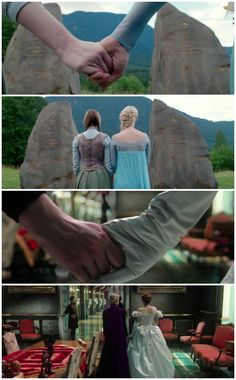 The first & last shots of Elsa & Anna
