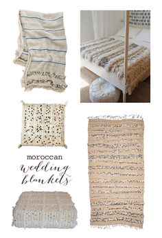 Moroccan wedding blankets - One Day I WILL Own One Of These. #bucketlistmorocco