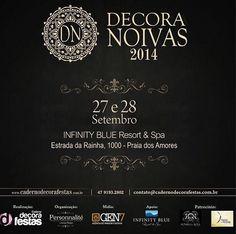 Convite e Sorteio - Decora Noivas 2014