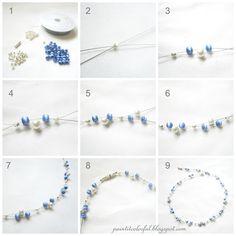 Easy Handmade Elegant Beaded Necklace Design1