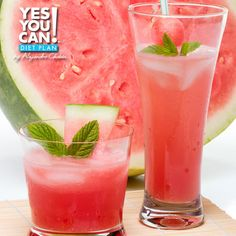 Watermelon Lemonade - A healthy option for your Yes You Can! Diet Plan drink