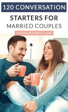 Communication in marriage is so important, but it doesn't have to be hard. In fact, it can be easy and fun! Here are 120 conversation starters for married couples to help keep the communication easy and strong in your marriage! First Year Of Marriage, Marriage Help, Happy Marriage, Marriage Advice, Love And Marriage, Relationships Are Hard, How To Improve Relationship, Healthy Relationships, Communication In Marriage