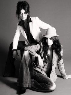 Penelope Cruz Pictures PENELOPE CRUZ And MONICA CRUZ Posing For Their New Mango Line 'Limited Edition' -