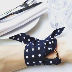 Silk Philosophy twilly bracelet. Unique summer accessory. Women's tie/silk scarf.