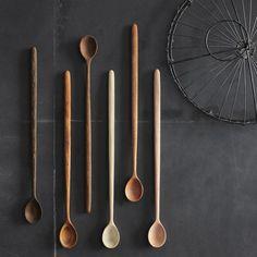 tasting spoons.