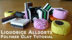 Liquorice Allsorts Polymer Clay Tutorial