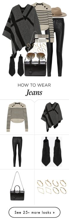 """Untitled #7591"" by nikka-phillips on Polyvore featuring rag & bone, McQ by Alexander McQueen, Isabel Marant, Burberry, Korres, ASOS, Coach and Yves Saint Laurent"